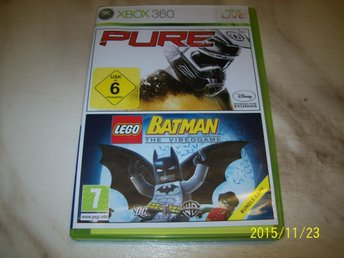 PURE & LEGO BATMAN THE VIDEOGAME (X-360)