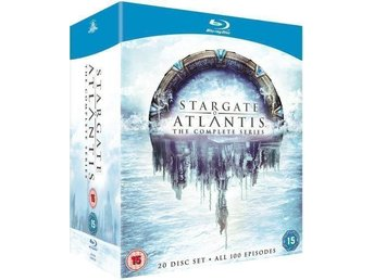 Stargate Atlantis The Complete Series [Blu-ray] Ny & Inplast - Timrå - Stargate Atlantis The Complete Series [Blu-ray] Ny & Inplast - Timrå