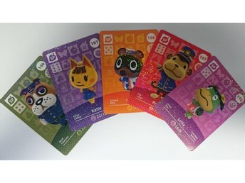 Animal Crossing Amiibo Cards series 2 Nr 106 - 110