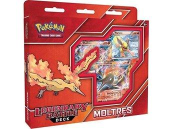 1st Pokemon Legendary Cards Battle Decks - Moltres EX, Ny oöppnad. - Vindeln - 1st Pokemon Legendary Cards Battle Decks - Moltres EX, Ny oöppnad. - Vindeln