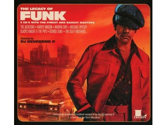 Various - The Legacy Of Funk (2016) 3-CD, Legacy/Sony Music, Digipak, New - Ekerö - Various - The Legacy Of Funk (2016) 3-CD, Legacy/Sony Music, Digipak, New - Ekerö