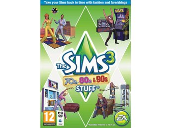 The Sims 3: 70s, 80s, & 90s Stuff Pack (DK)