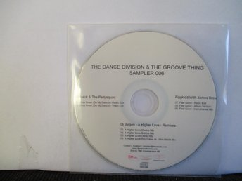 THE DANCE DIVISION & THE GROOVE THING - SAMPLER