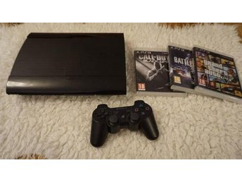 PS 3 Slim 500GB +3 SPEL
