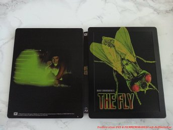 The Fly (STEELBOOK Lmtd) 1986 - Jeff Goldblum (Så fin!) Flugan -David Cronenberg