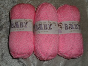 King Cole Baby Big Value DK rosamel 300g