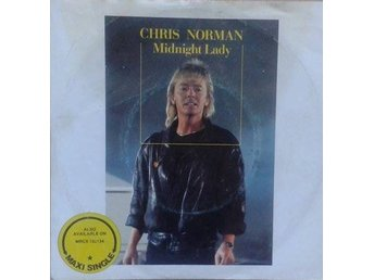 "Chris Norman title* Midnight Lady* Pop Rock, Synth-pop 7"" Denmark"