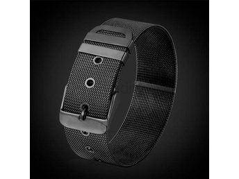 Armband U7 Stainless Steel Bracelet Men J Black Gun Plated