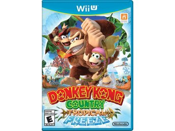 DONKEY KONG COUNTRY TROPICAL FREEZE / Nintendo Wii U.