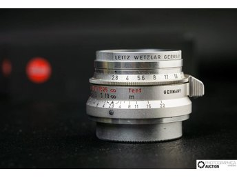 Leica 35mm Summaron f2.8 Screwmount M39 / L39 RARE / Collectable