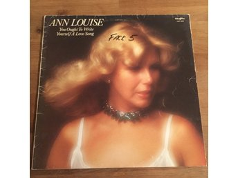 ANN LOUISE HANSON - YOU OUGHT TO WRITE YOURSELF A LOVE SONG. (LP)