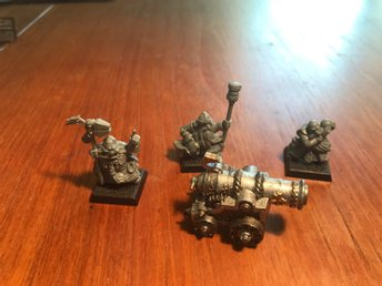 DWARF CANNON Warhammer- age of sigmar - Kings of war