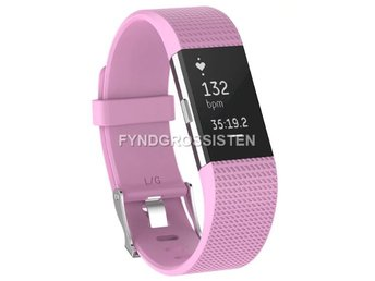 Armband Fitbit Charge 2 Small Pink Fri Frakt Ny