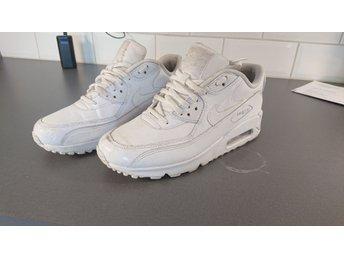 Nike air max 90 läder dam storlek 40