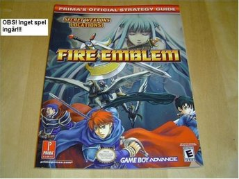 GUIDE SPELET FIRE EMBLEM NINTENDO GAMEBOY ADVANCE GBA *NYTT*