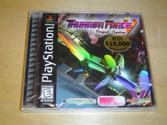 Thunder Force 5 Sony Playstation PSX PSONE *NYTT*