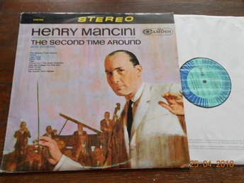 HENRY MANCINI - Second time around, Orig Tyskland RCA Camden CAS-928, LP 1966