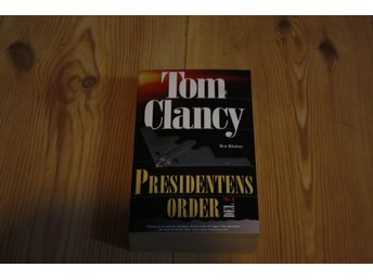 PRESIDENTENS ORDER AV TOM CLANCY  POCKET NY