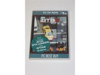 Gta 2 GTA 1 PC spel - Ljungby - Gta 2 GTA 1 PC spel - Ljungby