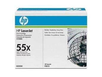 Toner HP CE255X HV 12 500 sidor FRAKTFRITT - Nossebro - Toner HP CE255X HV 12 500 sidor FRAKTFRITT - Nossebro