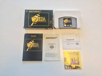 The Legend of Zelda: Ocarina of Time - Komplett - Bergsala - Nintendo 64