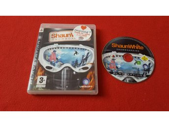SHAUN WHITE SNOWBOARDING till Sony Playstation 3 PS3