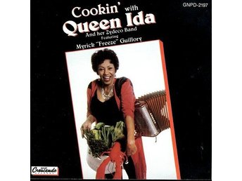 CD skiva Cookin´with Queen Ida And her Zydeco Band fint skick