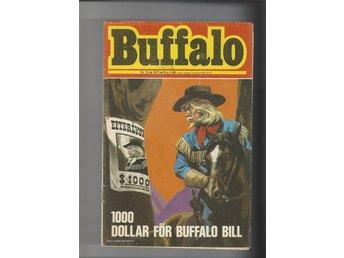 Buffalo 6 st nr 12 1971 och 4,9,10,,11,13 1972 skick vg - Skoghall - Betalning inom 4 bankdagar sen läggs auktionen ut igen - Skoghall