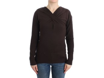 Cavalli - Brown knitted wool sweater
