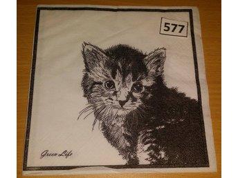 Servett med katt nr 46 (254339728) ᐈ videobruden på Tradera 54c5b0e951bf9