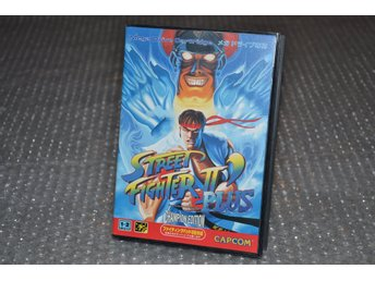 Street Fighter 2 Plus - Sega Mega drive - Japan - japanskt - jp