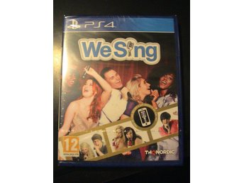 WE SING / PLAYSTATION 4 PS4 / NYTT & INPLASTAT