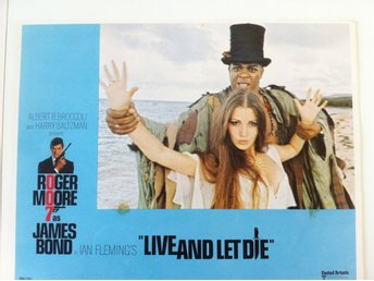 James Bond - Live and Let Die Lobby Card