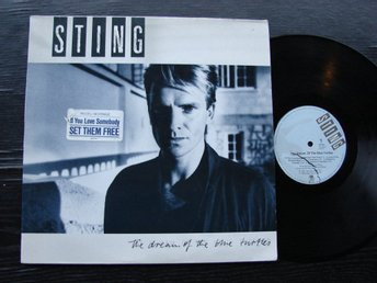 STING - The dream of the blue turtles A&M  Tyskland -85  LP