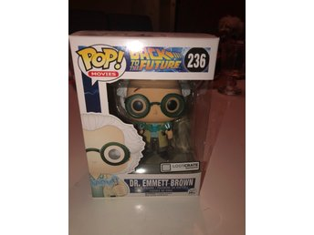 POP! Back to the Future Dr Emmett Brown Samlarfigur