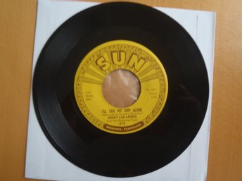 Jerry Lee Lewis I´ll Sail My Ship Alone rare USA Sun 45