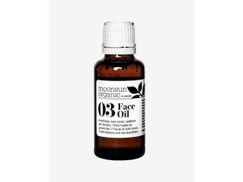 ! NY MOONSUN ORGANIC 03 FACE OIL 30 ML/ EKOLOGISK ANSIKTSOLJA
