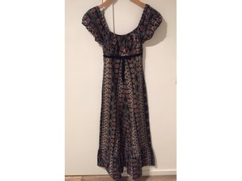 Underbar retro vintage slank klänning. 70 tal, .. (403847991