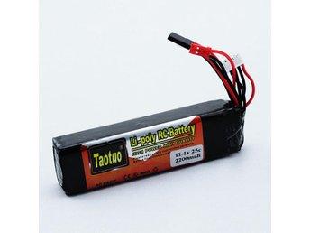 11.1V 2200MAH 3S 25C Lipo Batteri - Kil - 11.1V 2200MAH 3S 25C Lipo Batteri - Kil