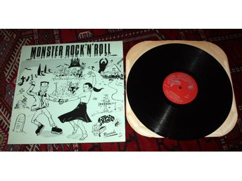 MONSTER ROCK n ROLL Crypt Big Bee Tommy Roe Duponts LP