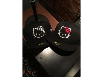 New Era Keps Hello Kitty Broderad