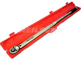 "1"" Inch Drive Long Torque Wrench 140Nm to 980Nm 123cm Long (For HGV Van)"
