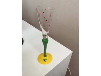 Orrefors Clown Champagneglas