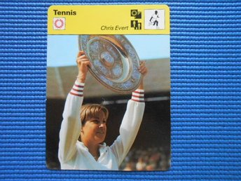 Tennis Chris Evert samlarserien Allt om Sport