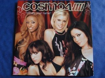 Cosmo4 - What's your name?, 7tr CD-maxi - Ny! - Sista ex.!