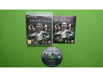 Injustice Gods Among Us Playstation 3 PS3