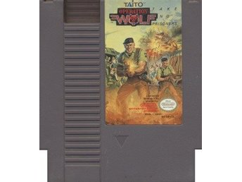 NES - Operation Wolf: Take No Prisoners (USA) (Beg)