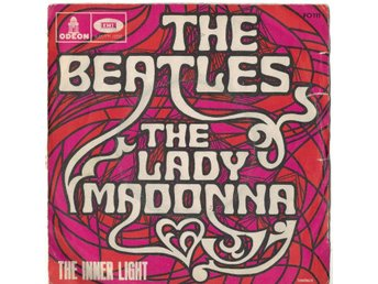 Beatles  The Lady Madonna/The Innerlighet