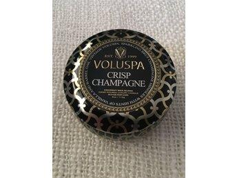 voluspa ljus crisp champagne