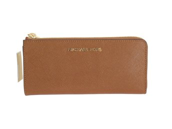 Michael Kors - Brown JET SET TRAVEL Carryall Wallet